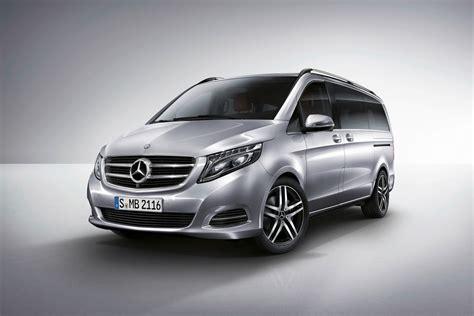 luxury minivan mercedes new mercedes v class luxury minivan pictures and details