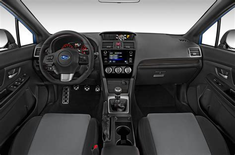 subaru wrx interior 2017 2017 subaru wrx cockpit interior photo automotive com