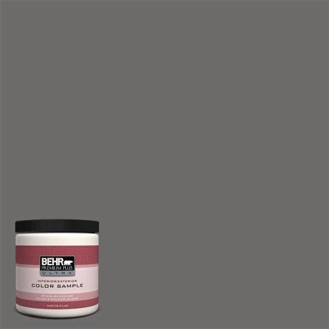 behr premium plus ultra 8 oz 780f 6 granite interior exterior paint sle 780f 6u the
