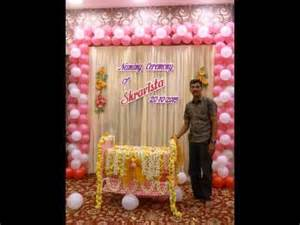 decorations with names on them naming ceremony decoration by madurai decorators call