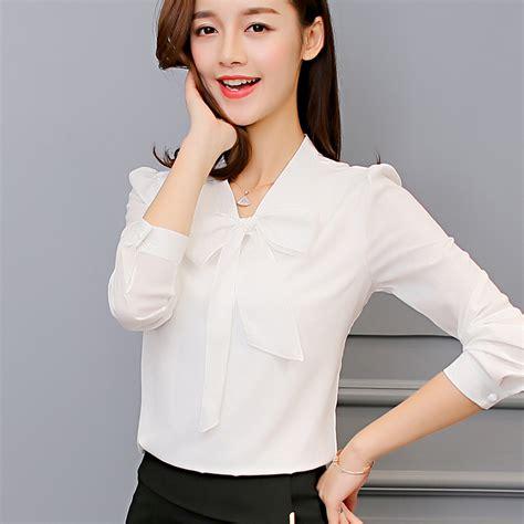 Blouse Pink Korea korean fashion chiffon blouse shirt sissy