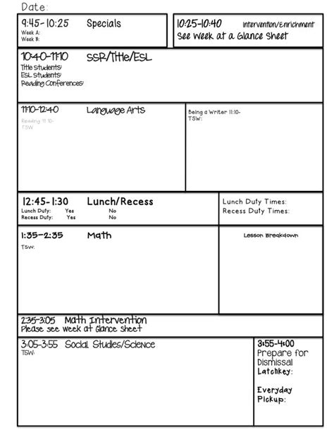 guided writing lesson plan template google search