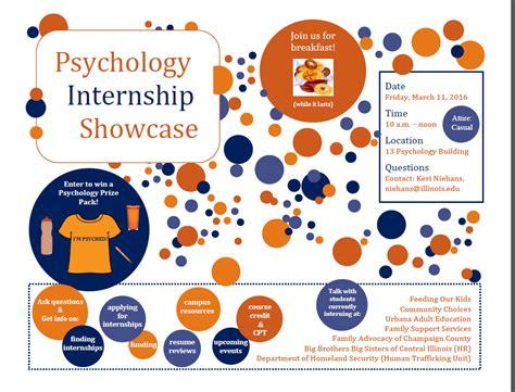 internship program billy vermillion s psychology advising of illinois at