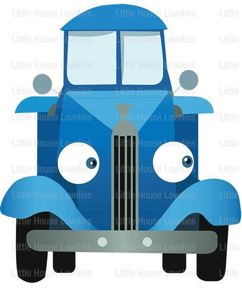 Blue Truck Printables blue truck birthday poster printable by