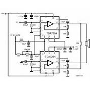 TDA7294 Audio Amplifier Circuits