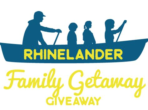 Getaway Giveaway - explore rhinelander family getaway giveaway