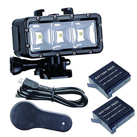 gopro hero 5 status light trendy sell suptig waterproof light high power dimmable