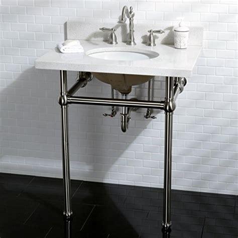 30 inch pedestal sink kingston brass white quartz 30 inch wall mount pedestal