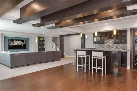 finished walkout basement basement great room finished walkout basement pinterest