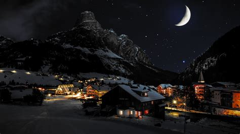 notturno testo paesaggio notturno