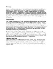 artist s statement wikipedia