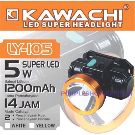 Senter Kepala Ly 112 Kawachi kawachi senter kepala 5watt baterai litium ly 105 lebih