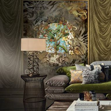 Amazing Home Interiors by Roberto Cavalli Wallpaper Collections Select Wallpaper