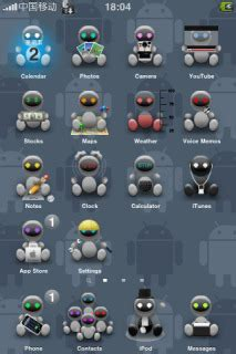 apple themes download for mobile download 3d robot apple iphone theme apple theme mobile