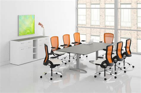 hon preside large meeting room contemporary conference table