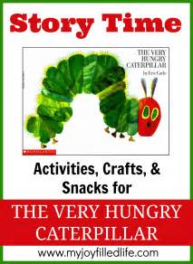 The very hungry caterpillar story time activities my joy filled