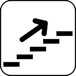 treppe piktogramm symbol schilder quot treppe mit pfeil aufw 228 rts quot aufkleber