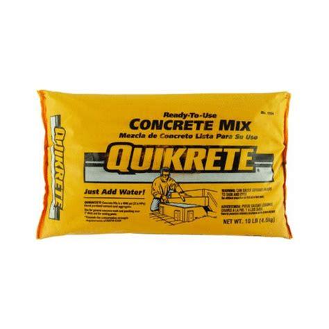 cement creatine quikrete 110110 10lb concrete mix concrete usa
