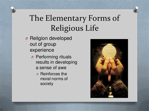 the elementary forms of the religious a study in religious sociology classic reprint books religion