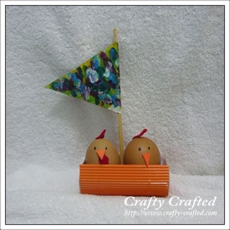 egg carton boat crafty crafted 187 blog archive crafts for children