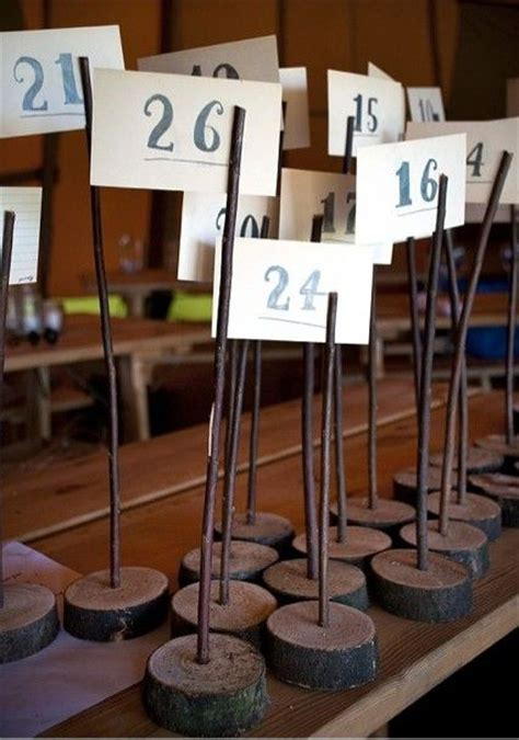 wooden number holders 25 best ideas about rustic shabby chic on pinterest