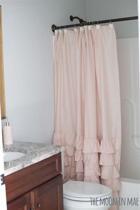 blush colored curtains best 25 gold shower curtain ideas on neutral