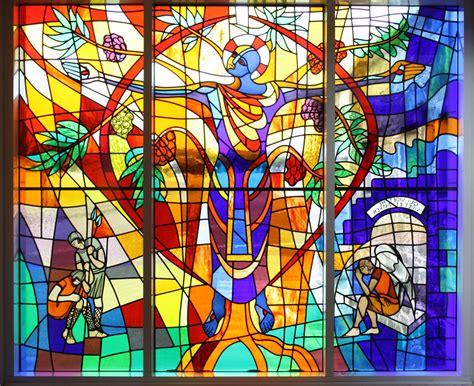 vitrage doorkijk stained glass window film applyityourself