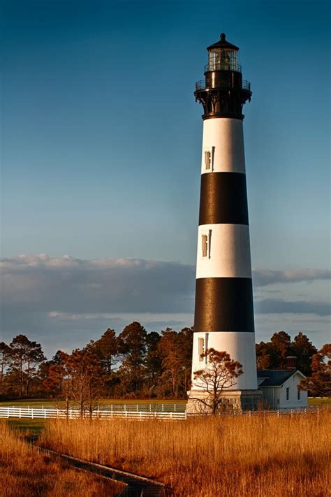 bodie island lighthouse carolina lighthouses