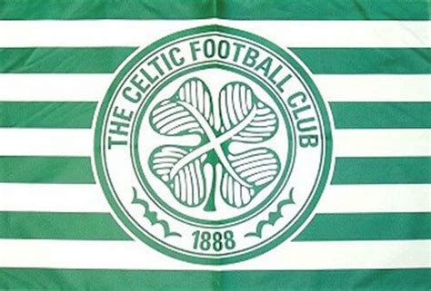 celtic fc flag    official scotland scottish football