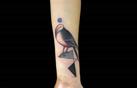 tattoos modern art birds and dreams scene360