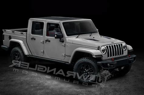 2018 jeep wrangler pickup news will the jeep wrangler pickup look like this