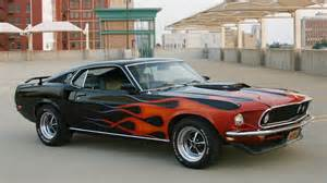 1969 Mustang Mach 1 Black Gallery For Gt Old Purple Ford Mustang