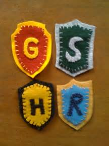 harry potter house colors items similar to harry potter house colors badges set of