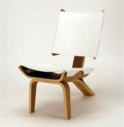 designer chair aesthetically brilliant chair made of bent plywood and