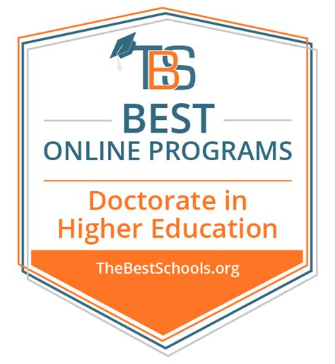 Best Doctoral Programs In Education - the best doctorate in higher education degree