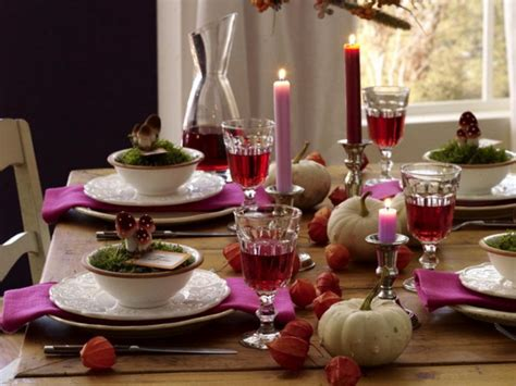 table settings ideas 26 thanksgiving table decorations digsdigs