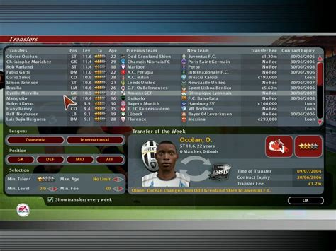 total club manager 2005 screenshots for windows mobygames