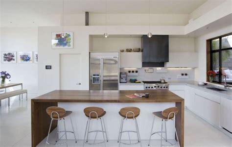 cuisine bois et blanche la cuisine blanche et bois dans tous ses 233 tats
