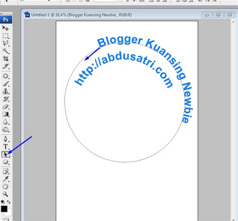 Membuat Tulisan Outline Di Photoshop | cara membuat teks melingkar di photoshop danish f