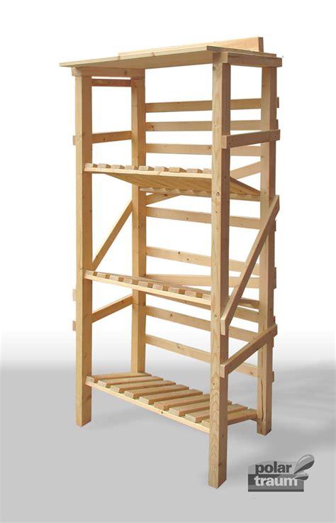 speisekammer regal selber bauen weiteres getr 228 nkekisten regal aus fichtenholz f 252 r 6