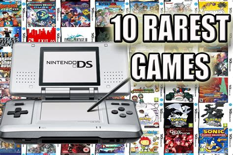 nds best top 10 rarest nintendo ds most expensive ds