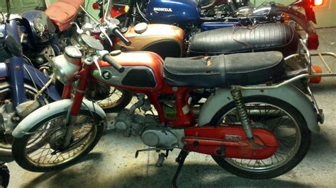 Barn Home by Rare But Cheap 1967 Honda Ss50