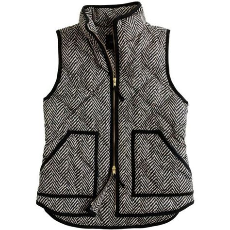 Excursion Quilted Vest In Herringbone pin by powers on fashionista