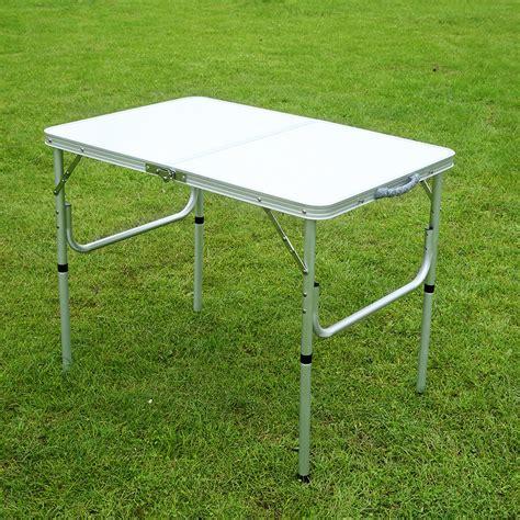 Metal Folding Table by China Aluminum Folding Picnic Table Metal Folding Cing