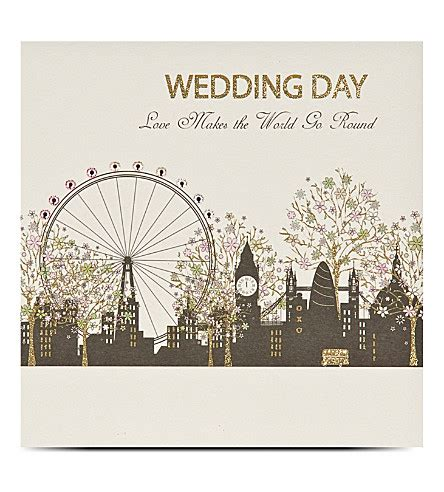 selfridges wedding invitations five dollar shake wedding day greetings card
