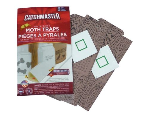 Pantry Moth Traps by Catchmaster Moth Trap Effective For Flour Grain Moths