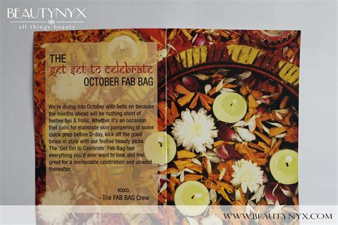 Fabs October Most Wanted by Fab Bag October 2015 Review