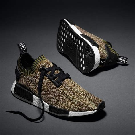 Sepatu Adidas Nmd R1 Prime Knit Yellow Pack Premium Original adidas launch the nmd primeknit camo pack flex offense