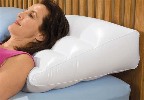 Inflatable Bed Wedge Pillow | inflatable bed wedge pillow with cover ebay
