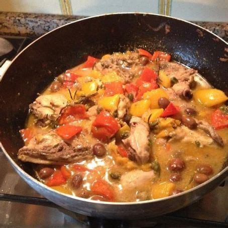 come cucinare il pollo con i peperoni pollo con olive e peperoni 4 1 5